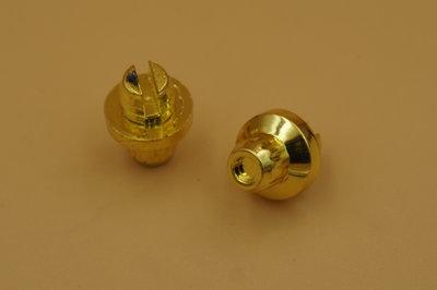 Sierbout 12-kant goud kop 10mm