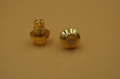 Sierbout 12-kant goud kop 14mm