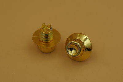 Sierbout 12-kant goud kop 13mm