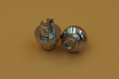 Sierbout 12-kant verchroomd 10mm