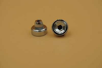 Sierbout Zeshoekige kop verchroomd 13mm