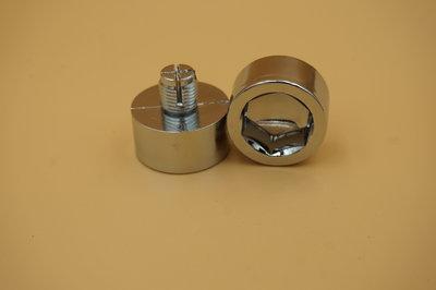 Sierbout Inbus verchroomd 25.5mm