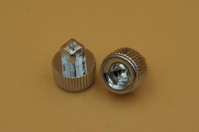 Sierbout Inbus/kartel verchroomd 12mm