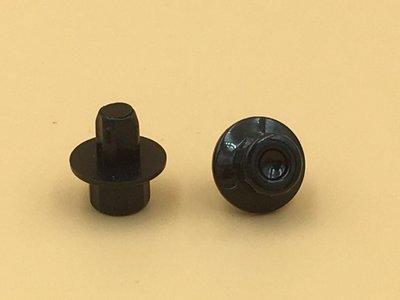 Sierbout 12-kant zwart kop 14mm