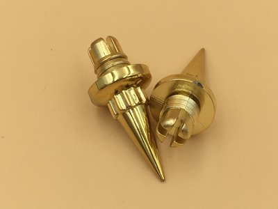 Sierbout Spike Goud kop 14mm