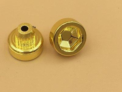 Sierbout inbus goud 8.5mm