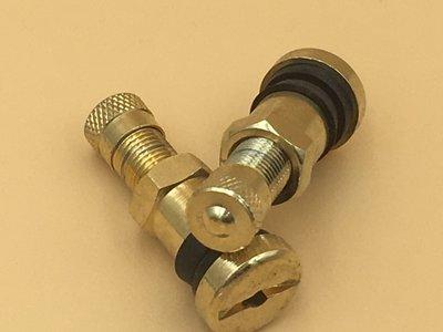 metalen ventiel 8.3mm verguld 34mm *Laatste stuks*