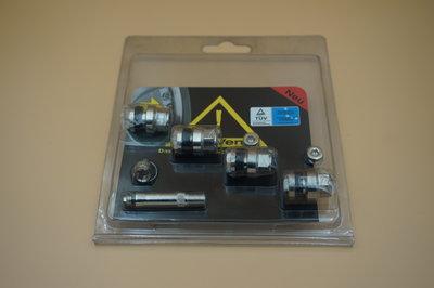 Blinde ventielen 11.5mm Chroom