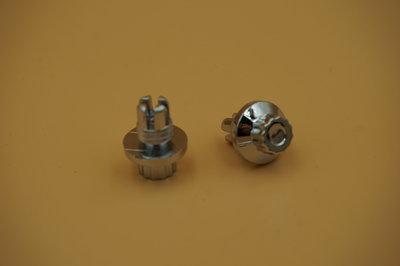 Sierbout 12-kant verchroomd 14mm