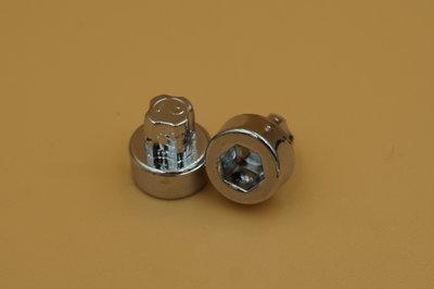 Sierbout Inbus verchroomd 10mm