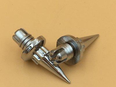 Sierbout Spike verchroomd 14mm