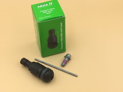 Sensorventiel TPMS zwart